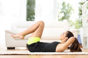 Gesund abnehmen Viertelstunde Workout