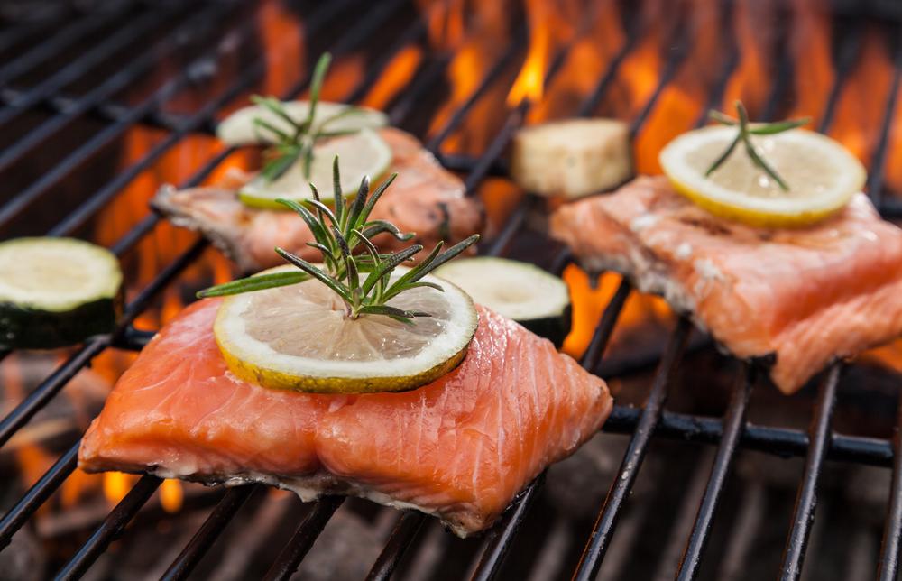 Ernährung im Sommer Fisch