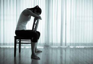 Depression aufgrund von Schweißgeruch